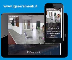 Nuovo sito web LG Serramenti